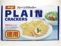MEIJI PLAIN CRACKERS (TOKUYO)