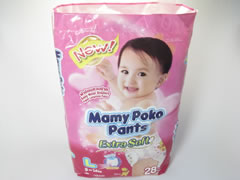MAMY POKO PANTS (GIRLS) L
