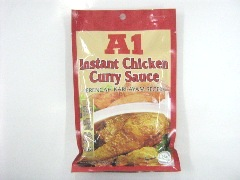 A1 INSTANT CHICKEN CURRY SAUCE