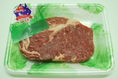 AUST BEEF BLACK ANGUS CUBE ROLL STEAK