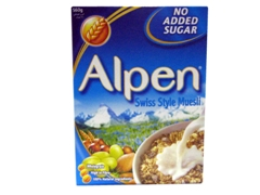 ALPEN SWISS STYLE MUESLI (NO SUGAR ADDED)